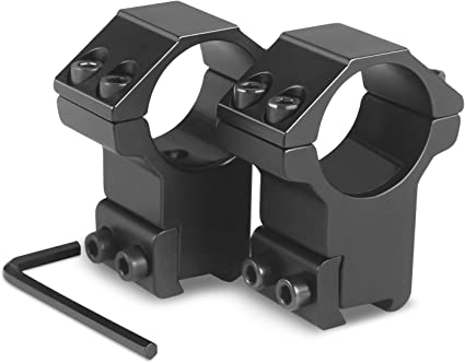 Modkin 1 Dovetail Scope Rings High Profile Scope Mount For 11mm Dovetail Rails 2 Pieces One Has Stop Pin Gun Scope Mounts Amazon Canada