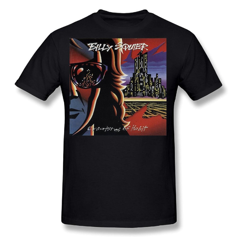 NeloimageMen Billy Squier Creatures Of Habit Cover Design T-Shirt