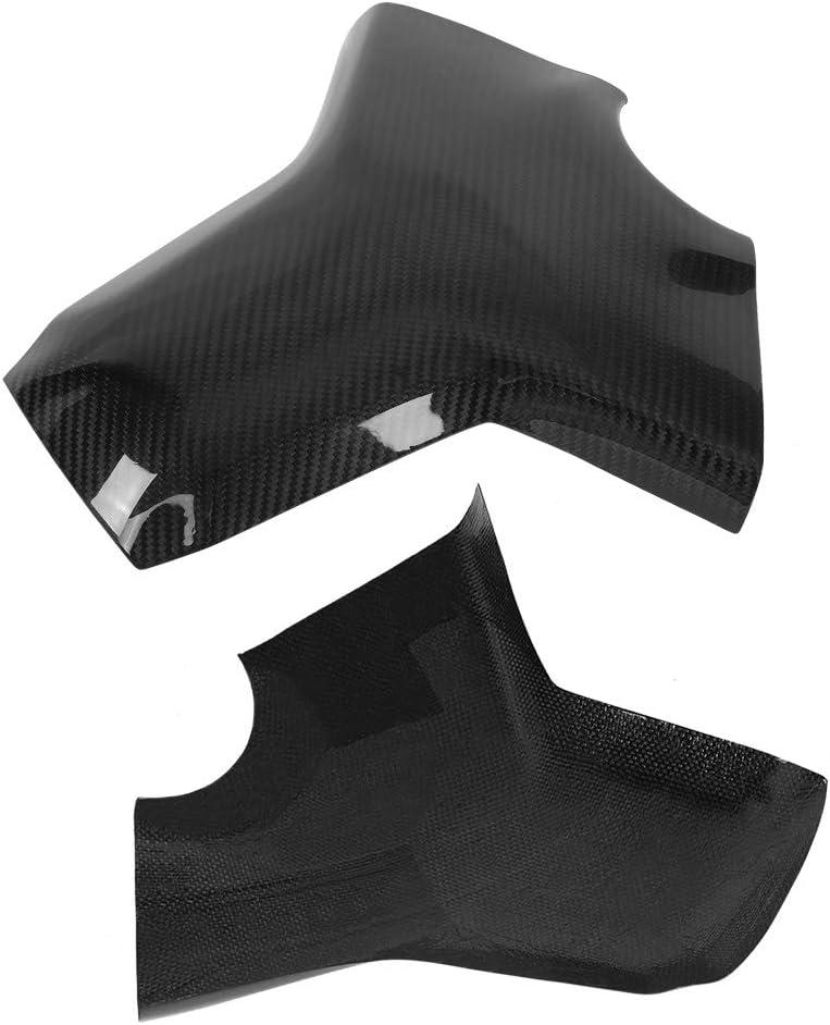FZ-09 2014-2016 Aramox Couvercle de r/éservoir de carburant style classique de protecteur de coussin de couvercle de r/éservoir de carburant en fibre de carbone moto pour MT-09