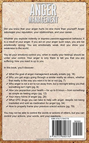 Buy Anger Management: Control Anger & Stop Hurting the One Person