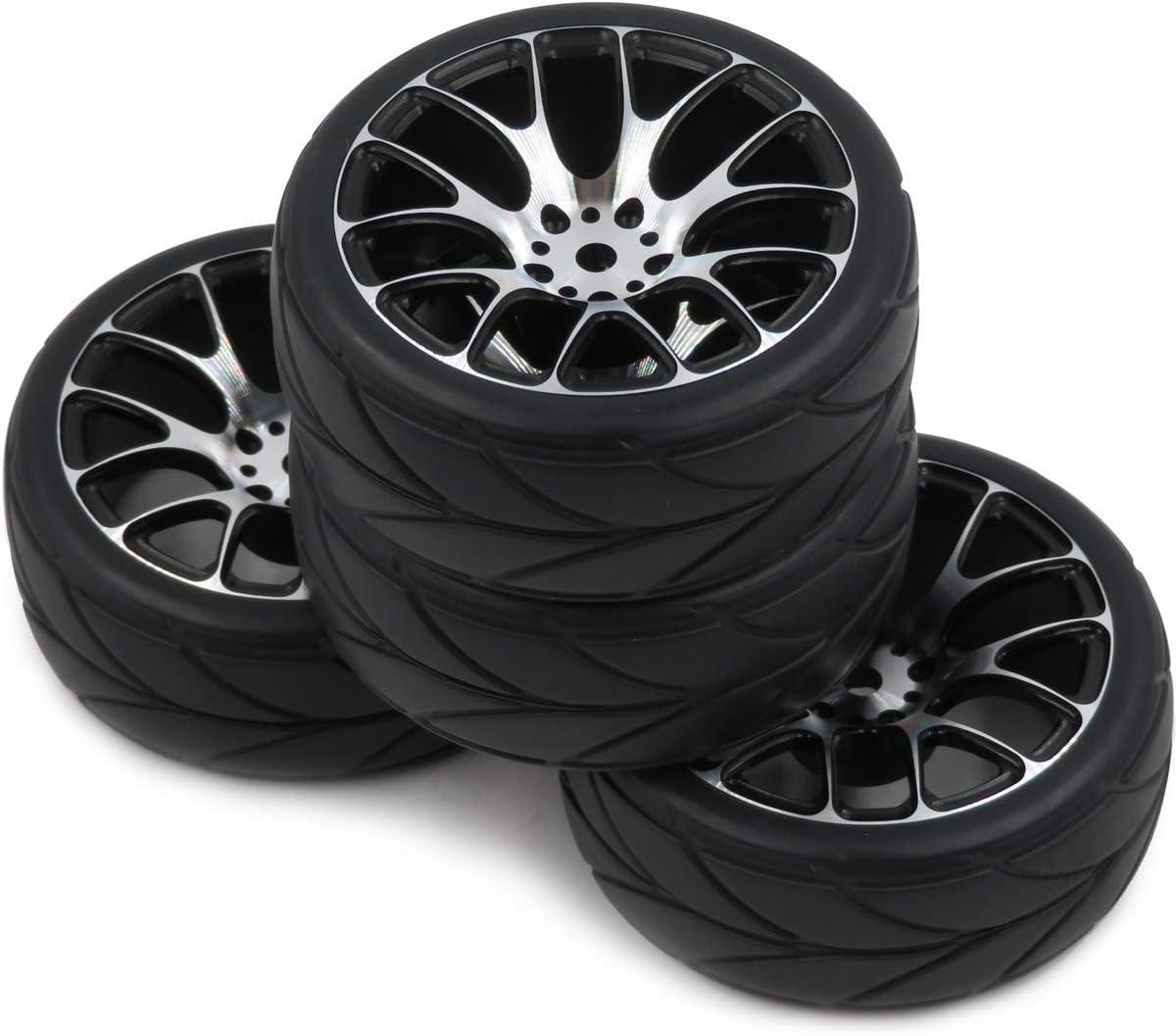 Aluminium Alloy Wheel Rim for RC 1:10 On-Road Car Accessory Set of 4