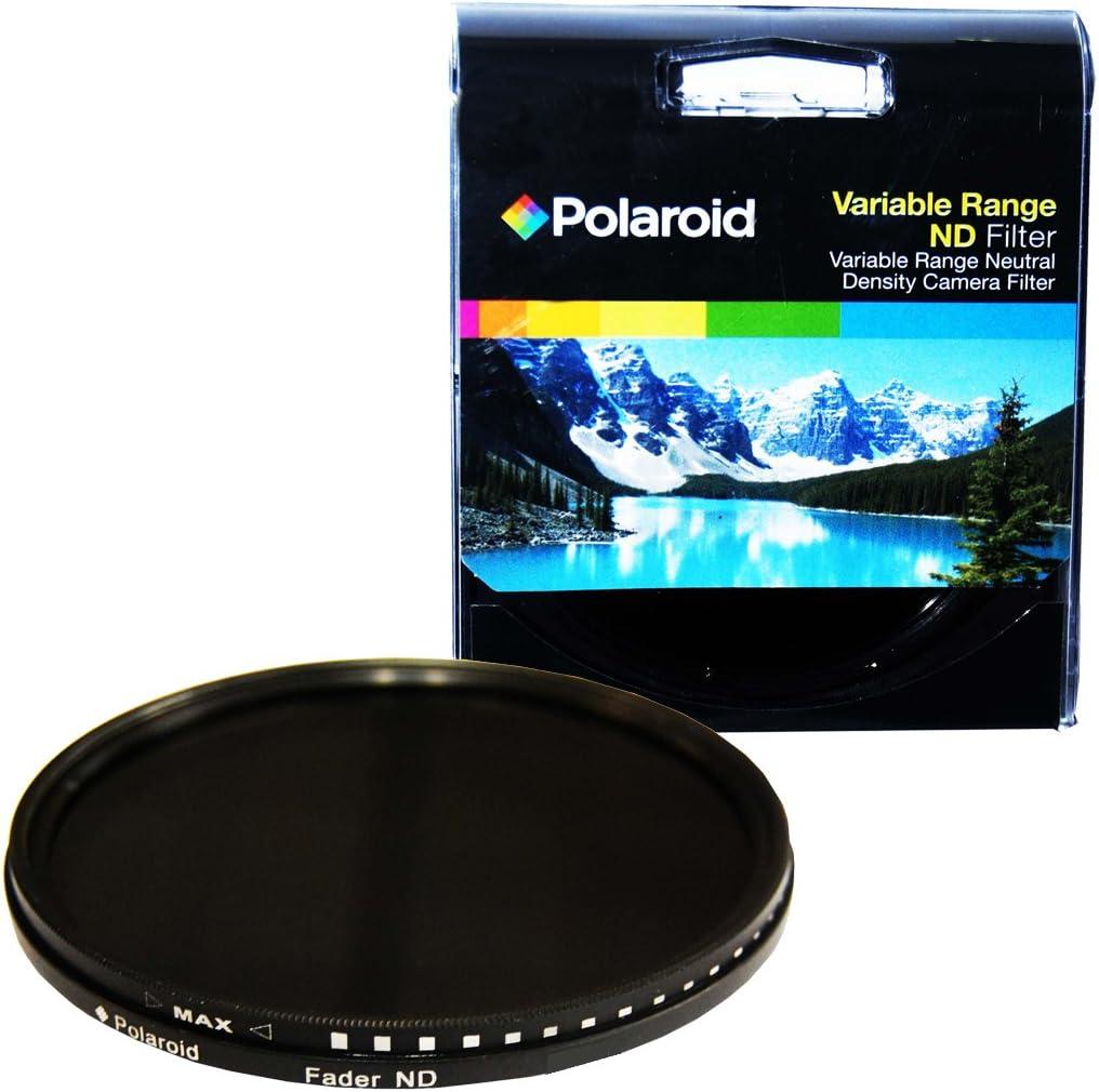 بولارويد أوبتيكس نطاق متغير متعدد الطبقات 77 مم [ND3, ND6, ND9, ND16, ND32, ND400] فلتر Fader بكثافة محايدة ND2-ND2000 - متوافق مع جميع نماذج عدسات الكاميرا الشهيرة