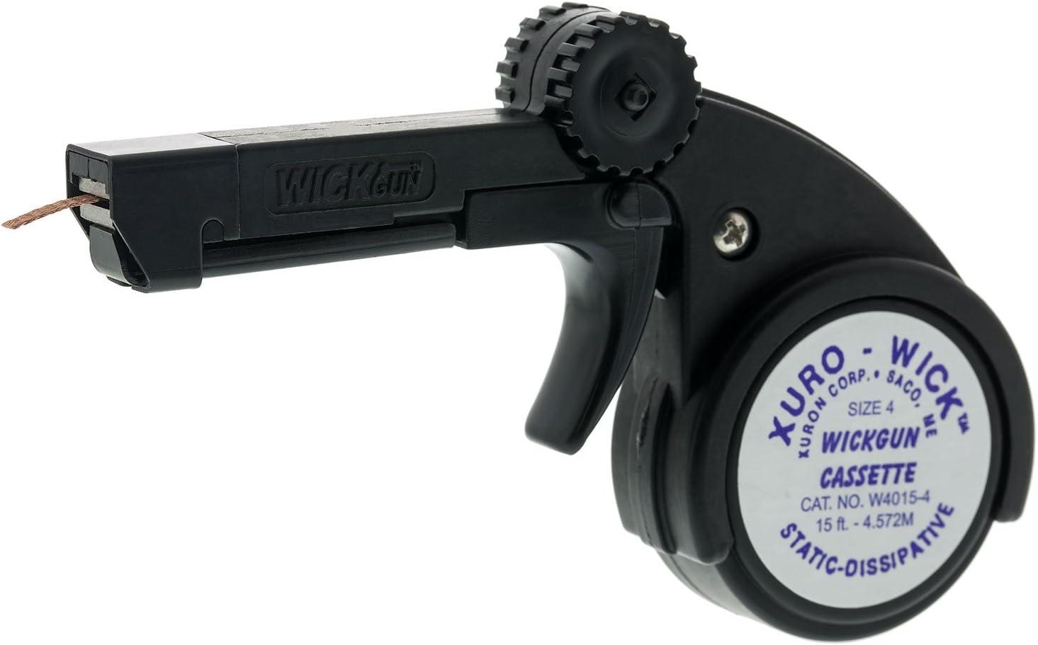 1000-4 WickGun Dispenser w// #4 Desoldering Braid