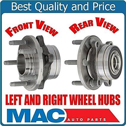 Fis For 11-17 Explorer (2) Torque Tested Wheel Bearing & Hub
