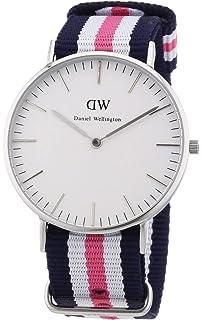 Armbanduhr Canterbury Damen Quarz Daniel Wellington Analog Nylon 2D9WEIH