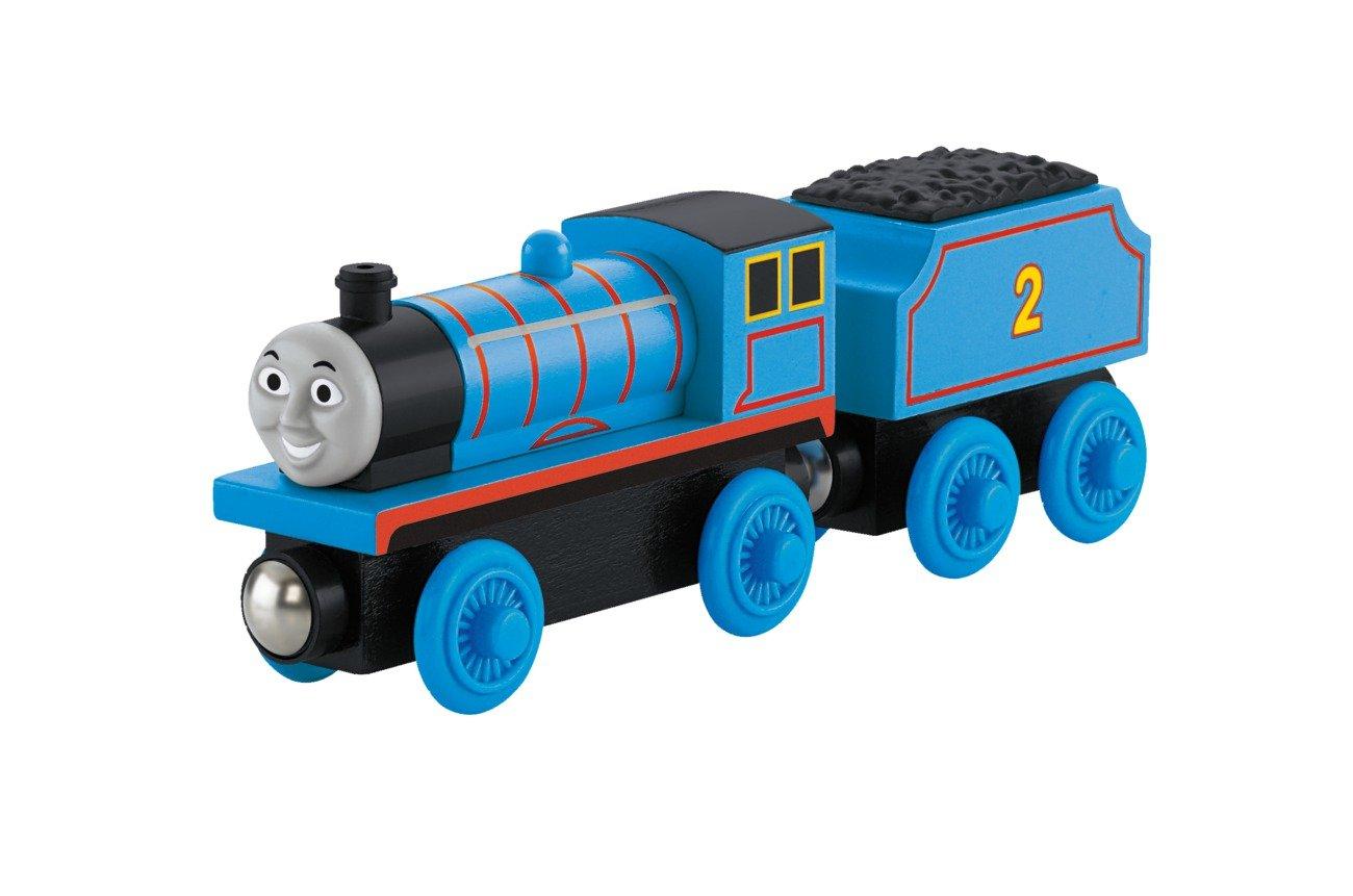 Thomas & Friends Fisher-Price Wooden Railway, Edward The Blue Engine