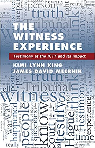 Amazon the witness experience testimony at the icty and its the witness experience testimony at the icty and its impact kindle edition fandeluxe Images