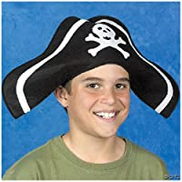Child Felt Pirate Hat (1 dz)