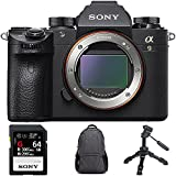 Sony Alpha a9 Mirrorless Interchangeable Lens Digital Camera Body Only with Sony SF-G Series 64GB UHS-II SD Memory Card, Tamrac Tradewind Backpack Dark Gray & Vanguard 2-Section Table-Top Tripod