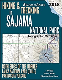 Hiking & Trekking in Sajama National Park Bolivia Andes Topographic ...