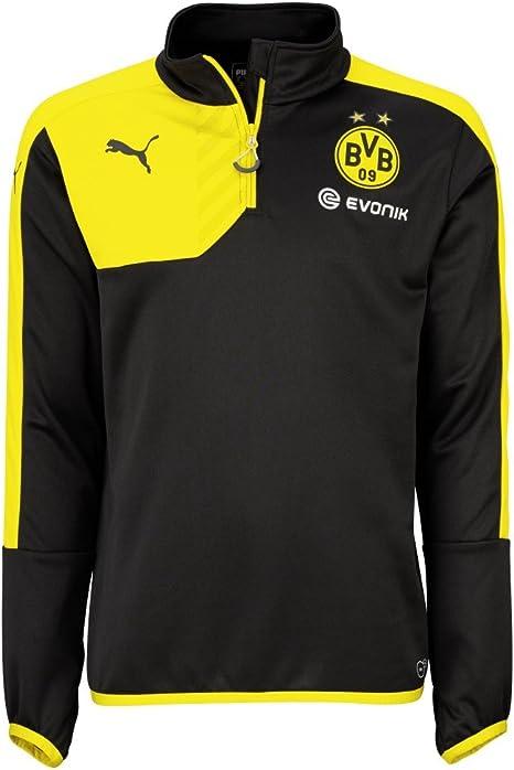 PUMA BVB Borussia Dortmund Chándal 2015/2016 Talla:large: Amazon ...