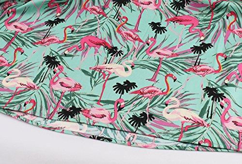 Jupe Inspir Multicolore Dot Coton Femmes 50 Soire 1392 Robe oiseaux Jupes Annes Polka De Rockabilly Complet VERNASSA Vintage Floral Cercle p0xFfqwwv