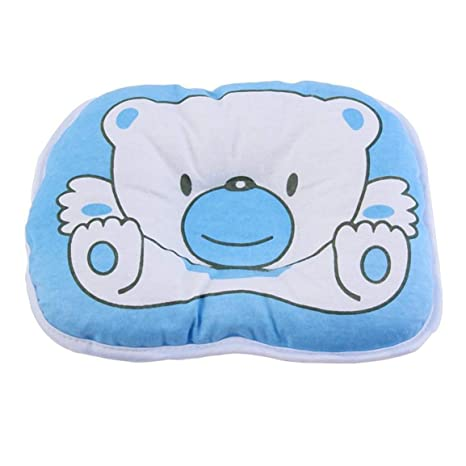 Lovely Cartoon Baby Pillow Newborns Infant Support Cushion Pad Prevent Flat Head