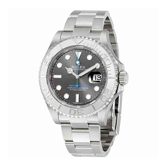 Rolex Yacht-Master 40 Dark Platinum Dial Acero Oyster 116622dplso – Reloj de hombre