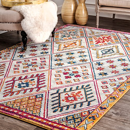 nuLOOM Smyrna Tribal Area Rug, 5 x 7 5 , Multi