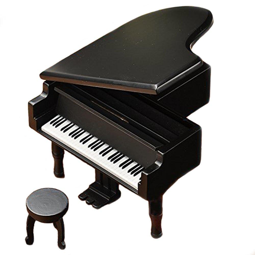 My Heart Will Go On Retro Wind-up de madera caja de m/úsica de piano madera de simulaci/ón de regalo caja de m/úsica caja Musical de