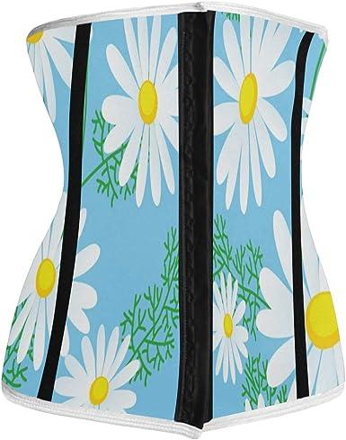 Floral Cincher Waist training Corset