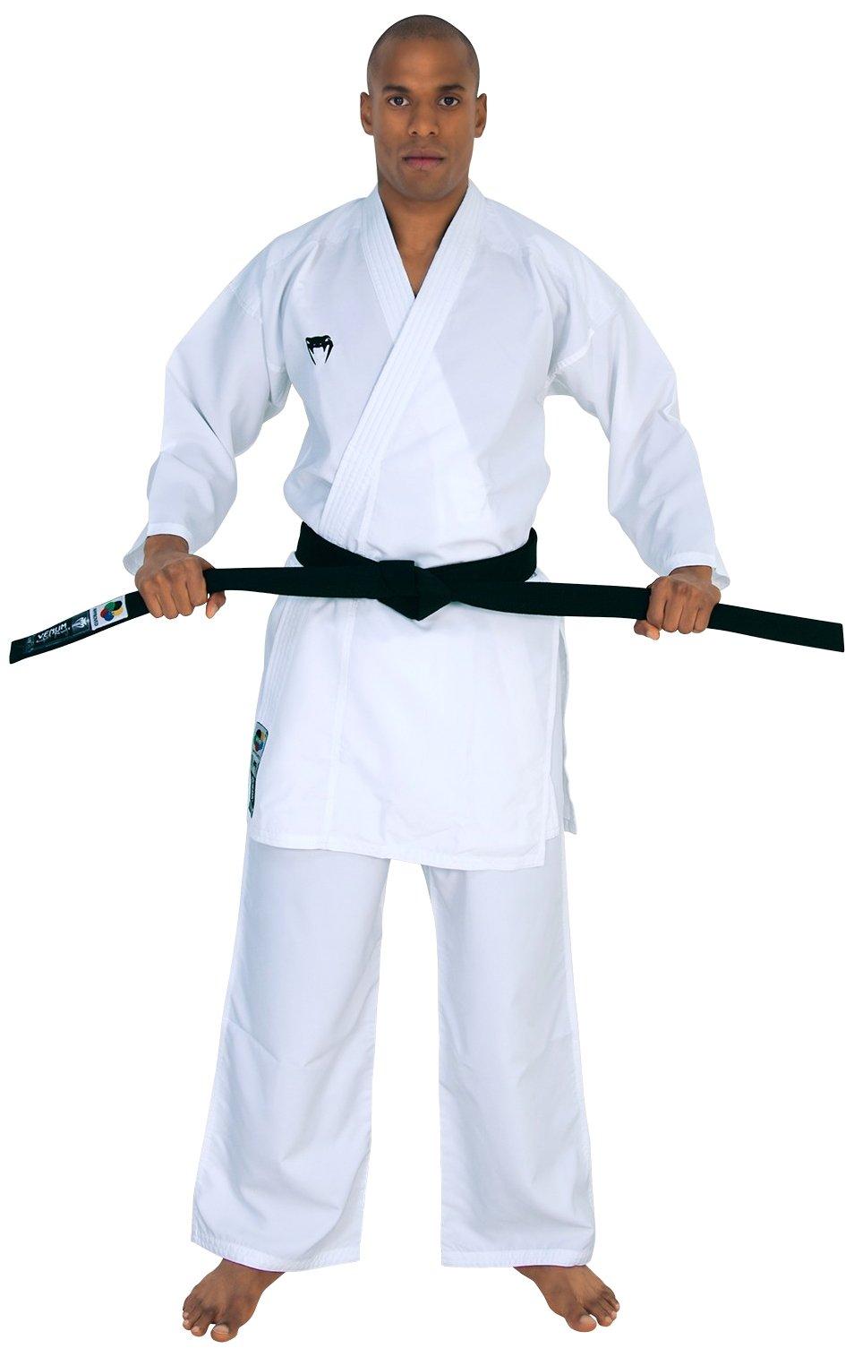 Venum ''Elite Kumite Karate GI Uniform, 185cm, White by Venum