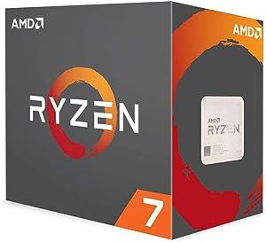 AMD Ryzen 7 1800X Processor (YD180XBCAEWOF) (Renewed)