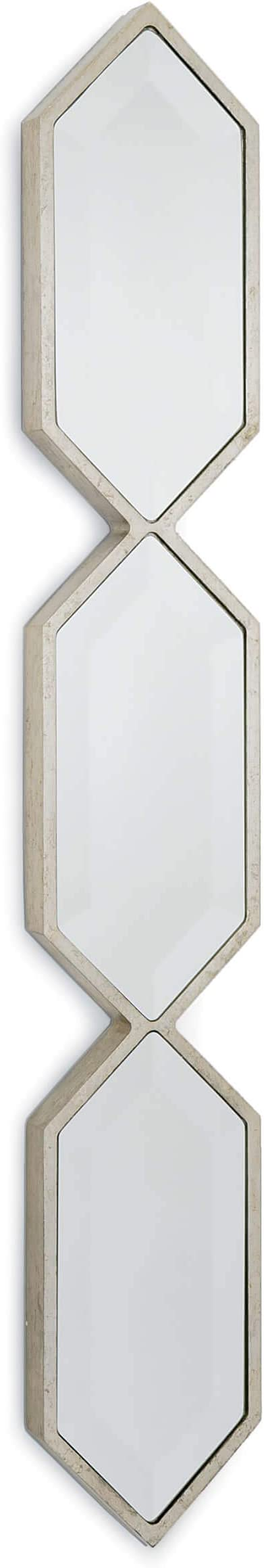 Amazon Com Regina Andrew Triple Diamond Classic Wall Panel Mirror In A Gold Leaf Finish Color Standing 42 75 Inches Tall And 6 5 Inches Wide For An Entryway Living Room Or Bedroom Home