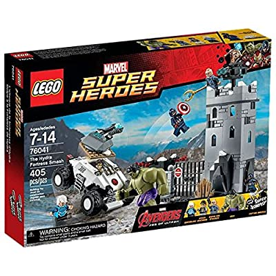 Marvel Lego Super Heroes Avengers The Hydra Fortress Smash Set (76041) by Marvel
