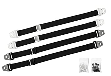 4 Pack TV And Furniture Anti Tip Straps Heavy Duty Wall Anchor For Baby