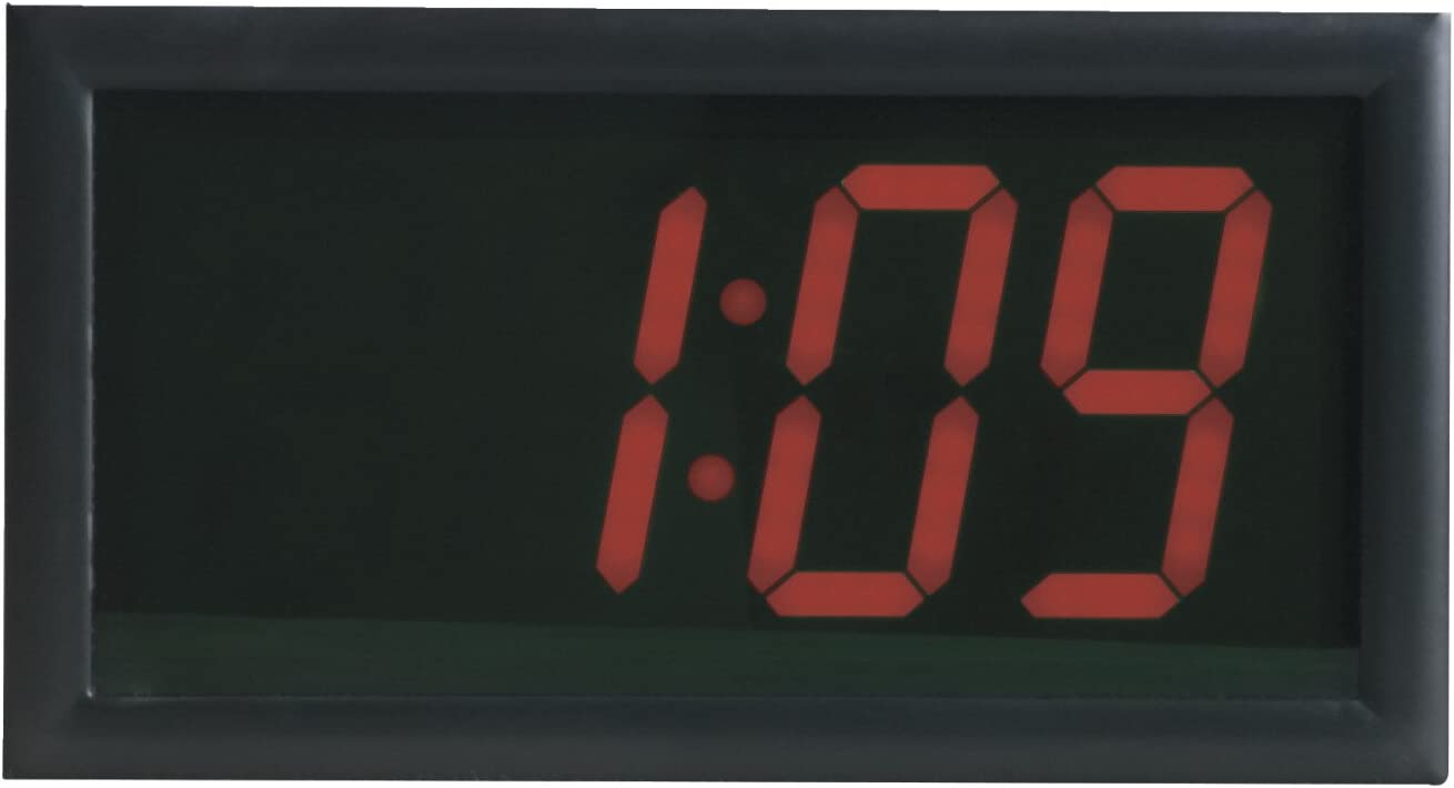 13 Inches School Smart High Visibility LED Clock with Remote Control