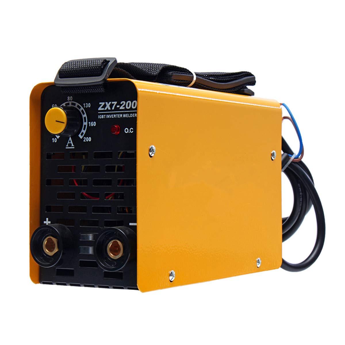 Portable Mini 220V IGBT ZX7-200 Copper MMA Inverter ARC Welding Machine 10-200A