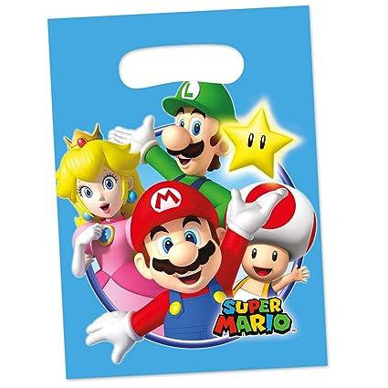 Amakando Mario y Luigi Bolsitas de Fiesta / Aprox. 16 x 23 ...