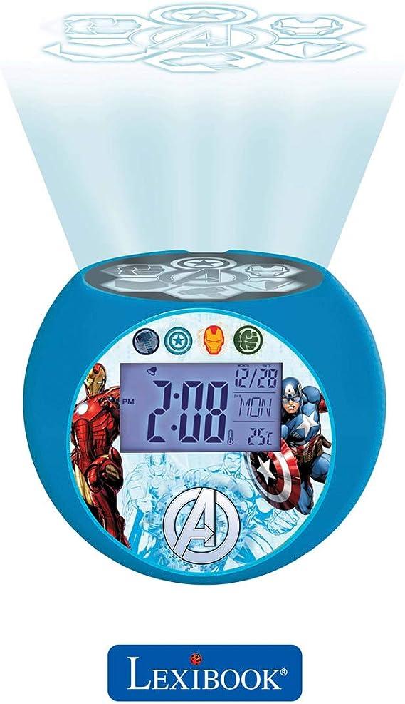 Lexibook - Despertador Digital, Azul (Los Vengadores): Amazon.es ...