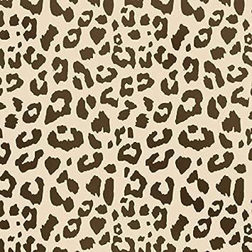 Schablone Wandmalerei leopard print muster srencil wandmalerei craft schablone