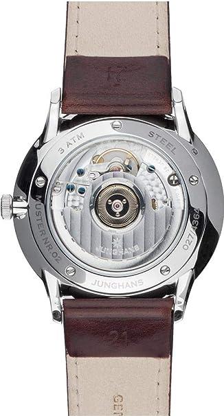 Junghans Meister Agenda Homme 40.4mm Automatique Montre 027