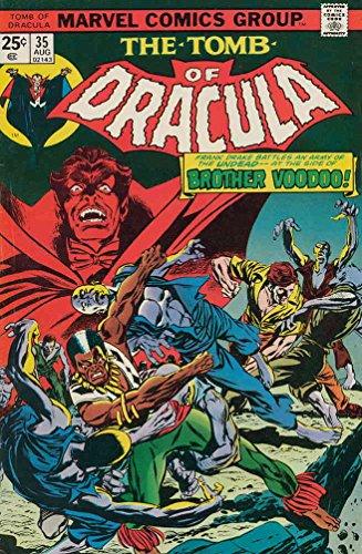 Tomb of Dracula #35 FN ; Marvel comic book