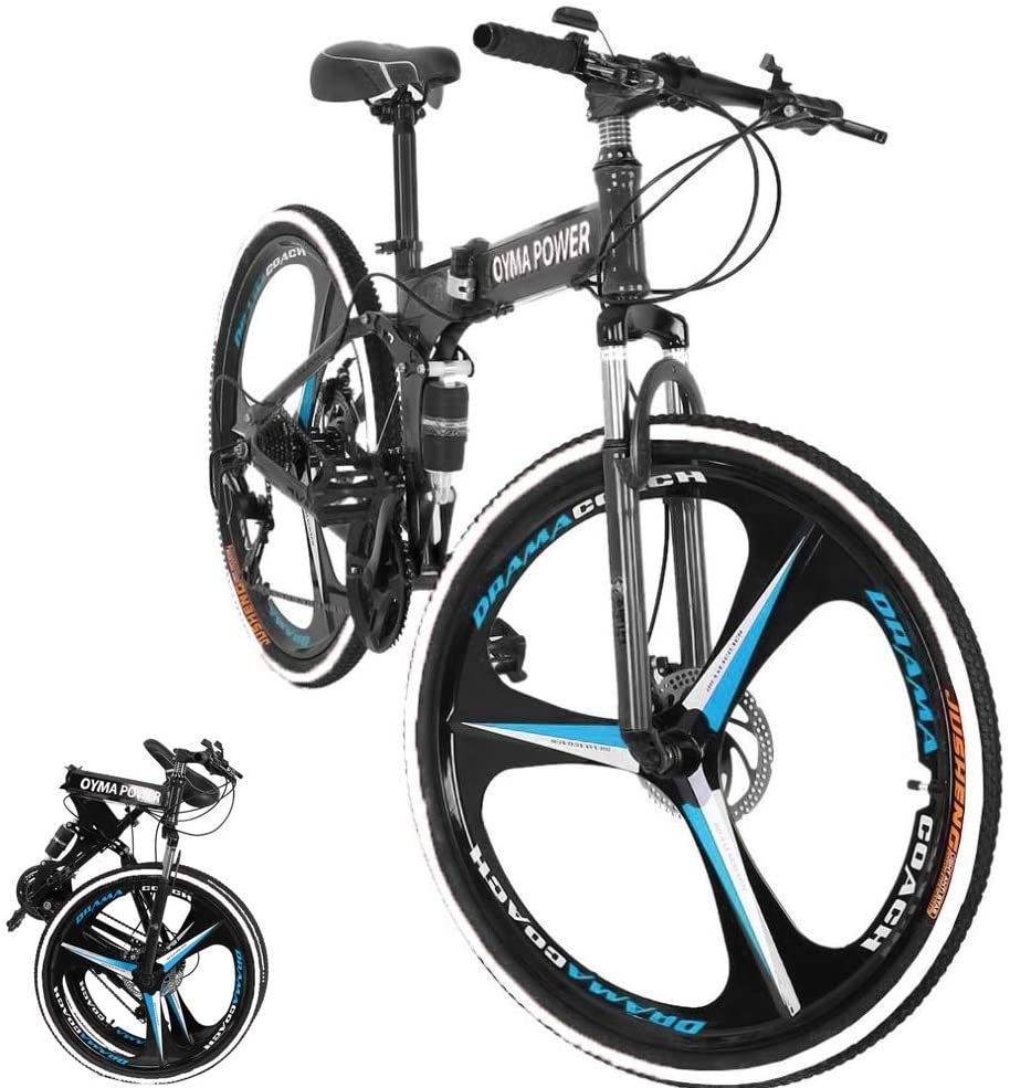 MTB Outroad Mountain Bicycle For Adults- Folding Mountain Bike Under $200