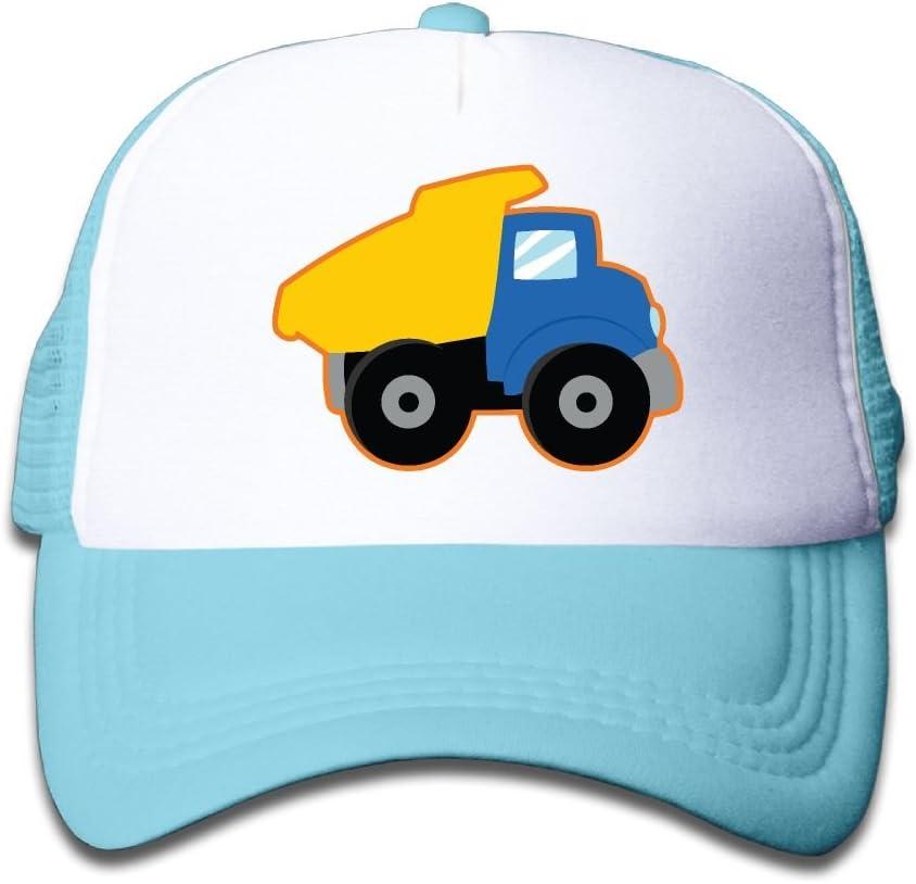 Yellow Dump Truck Toddler Cool Baseball Caps For Kids Snapback Cap Hat