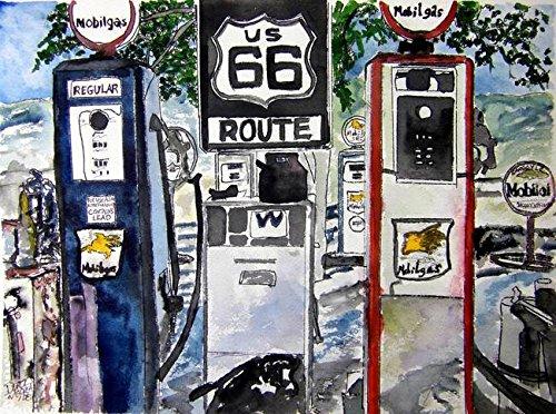 Imagekind Wall Art Print Route 66 Americana Southwestern Original