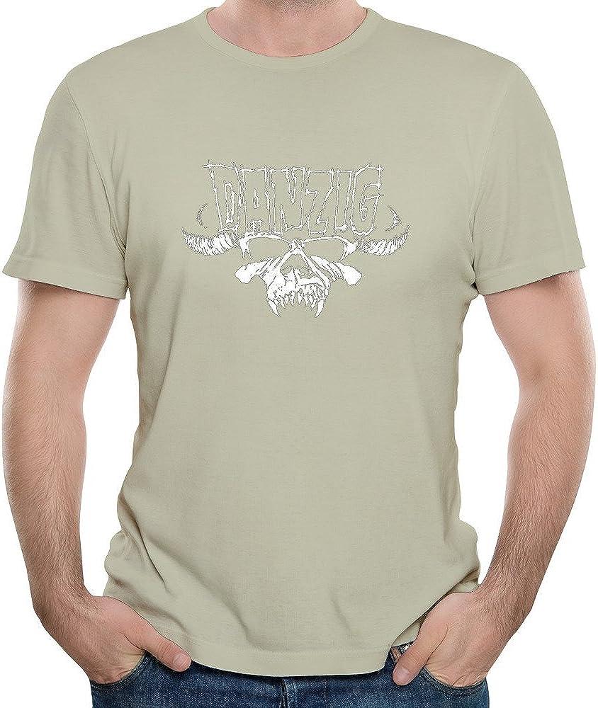 Roy hombres de Heavy Metal banda Danzig Logo diseño manga corta camiseta: Amazon.es: Libros