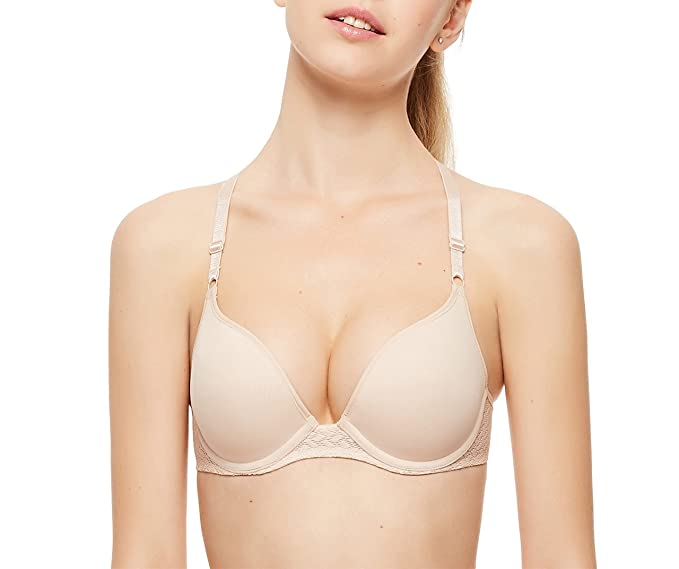 Passionata by Chantelle Dandy Underwire Smooth Push-Up Bra (5496) 36D/Nude
