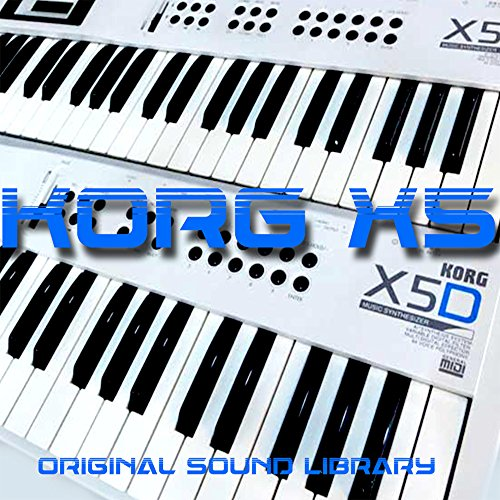 KORG X-5 – THE very Best of – Large Sound Library – Original Samples in WAVEs format on CD