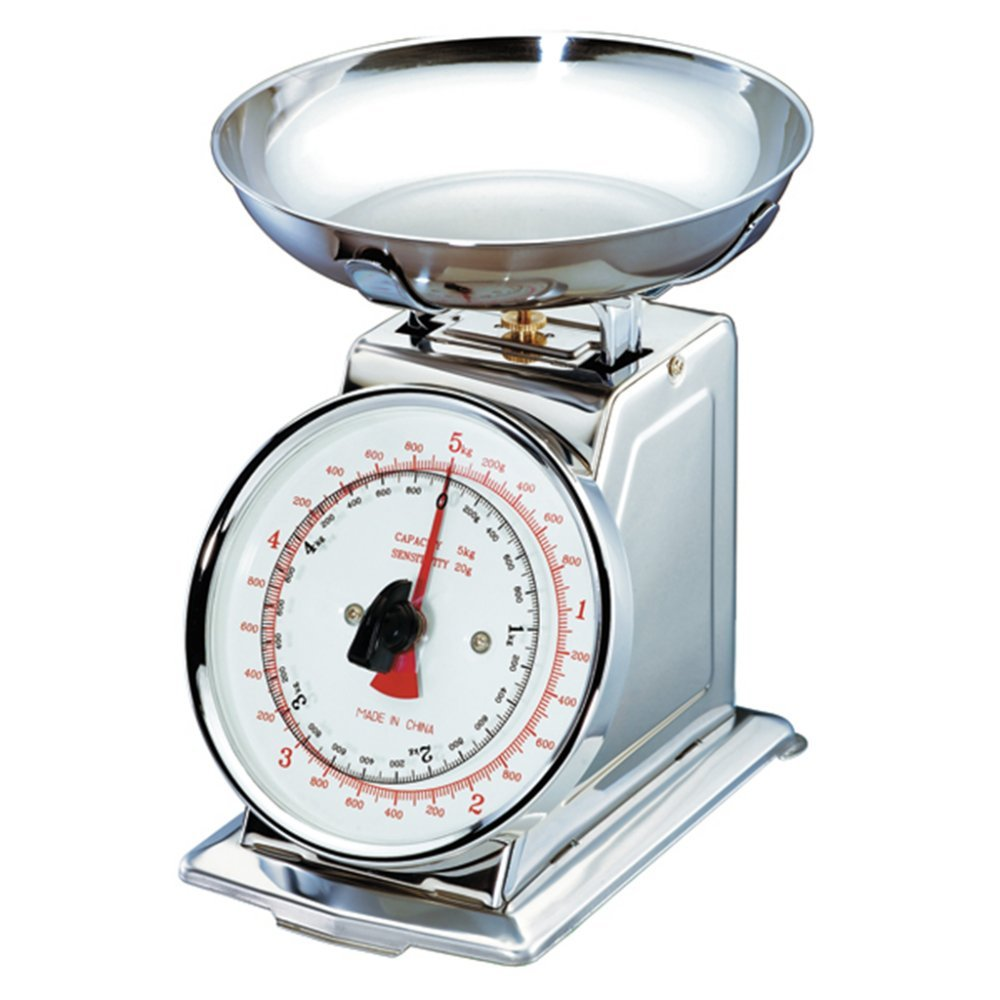 Mechanical Scale Deep Platform 5 Kg 26,5X21X20 Cm Silver Stainless Steel - 1 Units Garcia de Pou Garcia de Pou_455.65