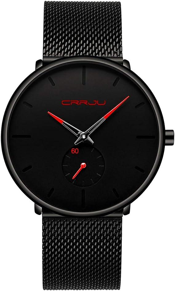Amazon.com: Reloj de pulsera para hombre, color azul ...