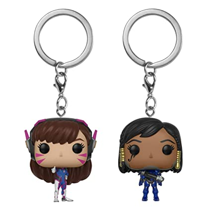 Funko Pocket Pop! Keychain: Overwatch Bundle - D.Va and Pharah
