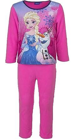 bba9a13eed Disney Frozen Anna Elsa Kids Polar Fleece Pijamas   Ropa de dormir (Rosado