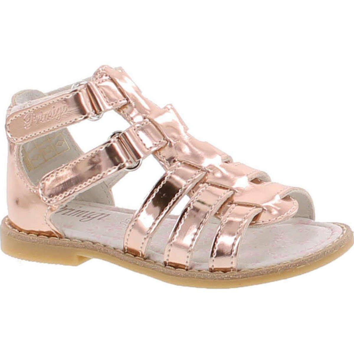 material seleccionado presentación venta limitada Primigi Girls 14401 Leather European Fashion Gladiator Sandals ...