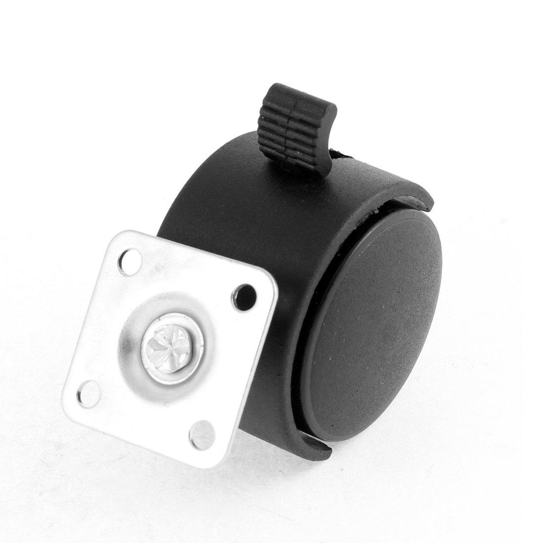 eDealMax Silla de oficina DE 2 pulgadas de diámetro cuadrados rueda de la placa de montaje giratoria DE 8 piezas: Amazon.com: Industrial & Scientific