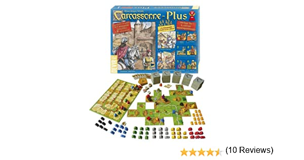 Devir BGCARPLUS2 - Carcassonne Plus 2012, juego de tablero: Amazon.es: Juguetes y juegos