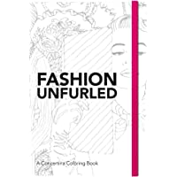 Fashion Unfurled: A Concertina Colouring Book