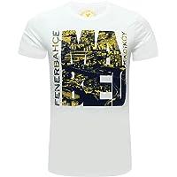 Fenerium-Erkek Tribun Mabed Kadiköy T-Shirt-Beyaz-M