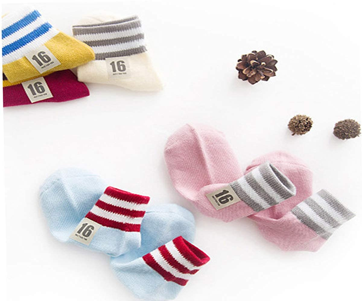 Warm and Simple Design Baby Girls Children Socks for Autumn and Winter