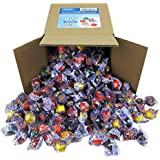 Ferrara Medium Size Jawbusters Jawbreakers Candy Individually Wrapped in 6x6x6 Box Bulk Candy, 3.2 lbs. - 52 oz.